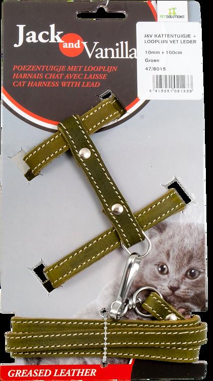 Kattentuig Met Looplijn Groen