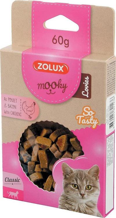 Zolux Mooky Katten Lovies - Kip en bacon