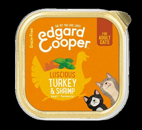 Edgard & Cooper Natvoer ADULT Kalkoen& garnalen