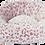 Thumbnail: Jack & Vanilla Mand Rond Soft Luipaard Roze