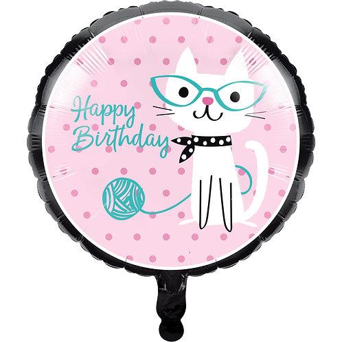 Purrfect Party Ballon KAT