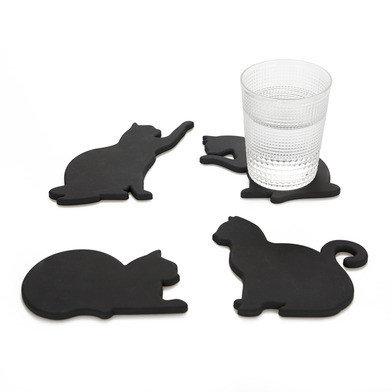 Onderzetter & Magneten Black Cats