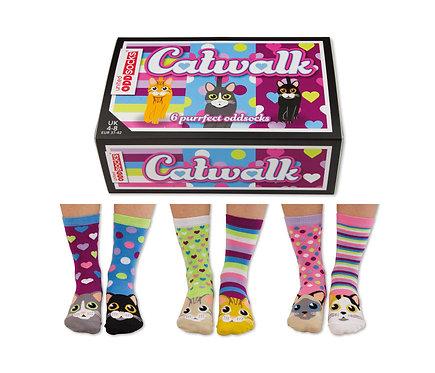 Kattensokken Catwalk - 6 Kousen