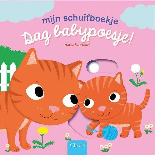 Clavis Schuifboek Dag Babypoesje!