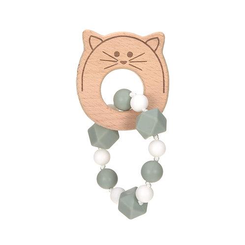 Lässig Bijtring armband Cat