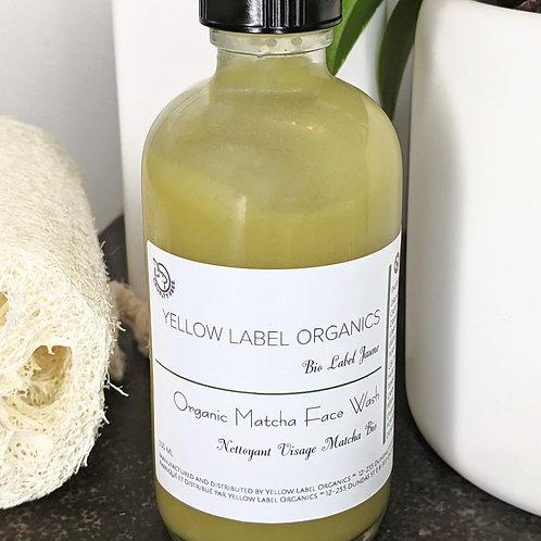 Organic Matcha Face Wash