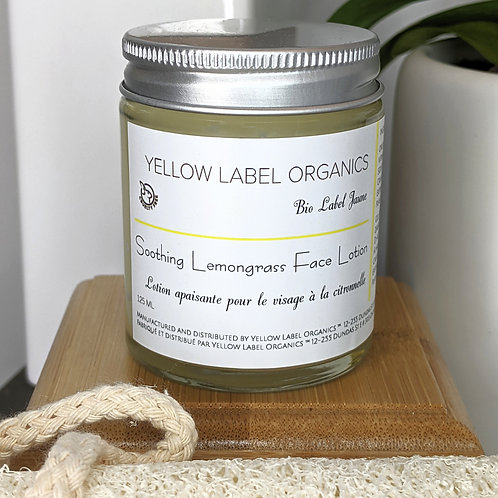 Soothing Lemongrass Face Lotion