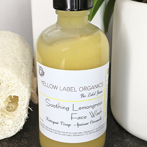 Soothing Lemongrass Face Wash