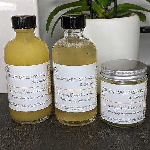 Energizing Citrus Face Care Kit