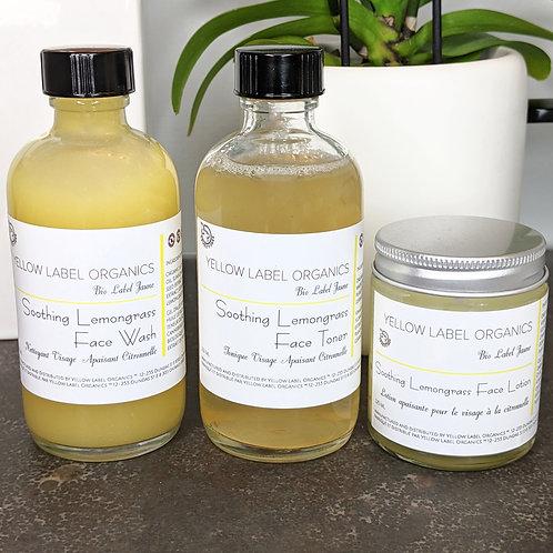 Soothing Lemongrass Face Care Kit