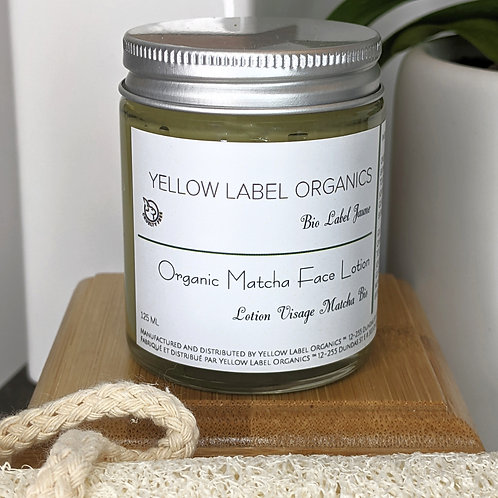 Organic Matcha Face Lotion