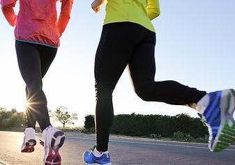 Exercise wear - mending, hemming, and new elastic.