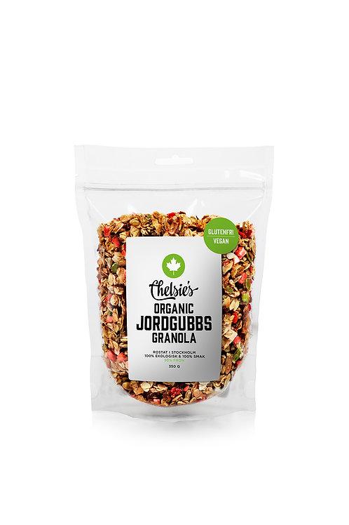Chelsie's Organic Jordgubbs Granola, 350g