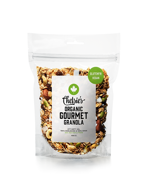 Chelsie's Organic Gourmet Granola, 400g