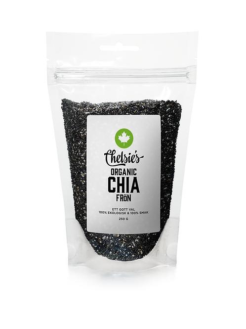 Chelsie's Organic Chia Seeds, 250g