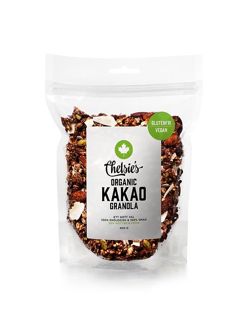 Chelsie's Organic Kakao Granola, 400g