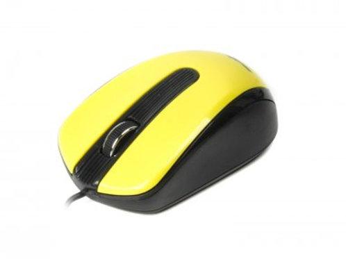 Мышь Maxxter Mc-325-Y, USB желтая