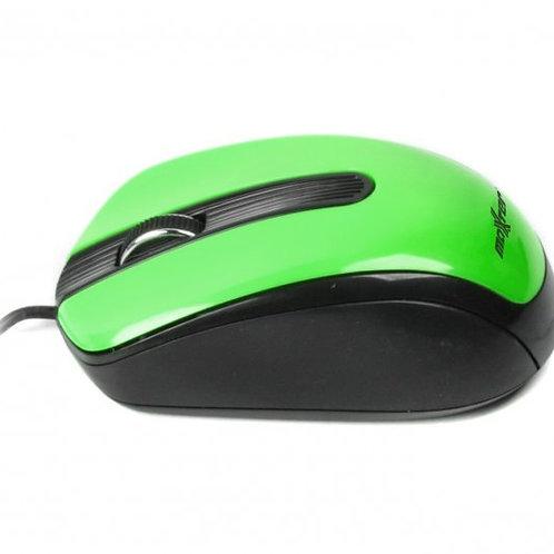 Мышь Maxxter Mc-325-G, USB зеленая
