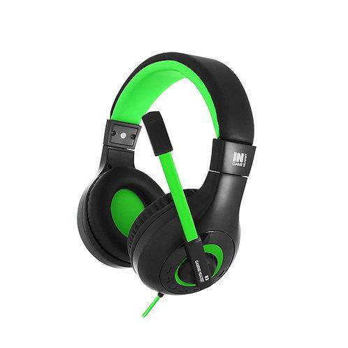 Наушники Gemix N3 black-green игровые