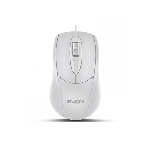 Мышь SVEN RX-110 (white), USB, 1 Wheel, 1000cpi
