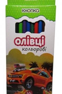 Карандаши цветные 12шт Эконом