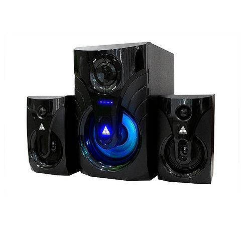 Акустическая система 2.1 GOLDEN FIELD LA-215G-Bluetooth MP3 player Remote Contro