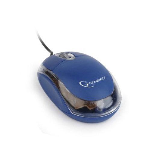 Мышь Gembird MUS-U-01-BT, USB, синий