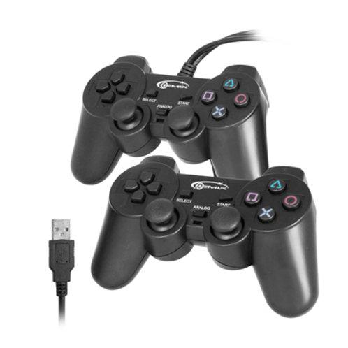 Геймпад Gemix GP-50 Twin, PC/USB черные