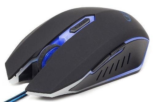 Мышь Gembird MUSG-001-B, USB інтерфейс, синій колір