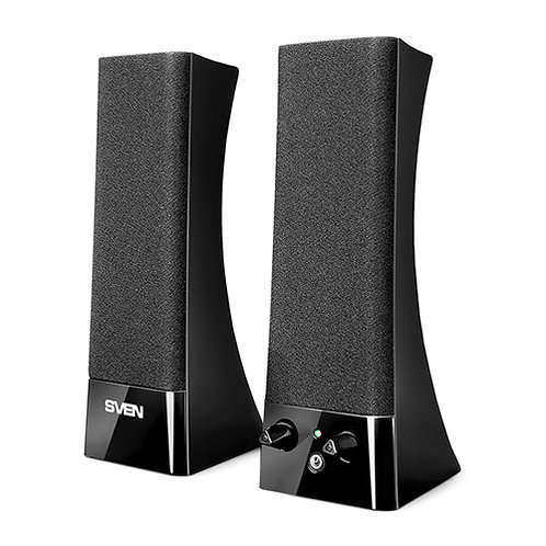 Акустическая система 2.0 SVEN 235 (black) Active system 2*2W speaker, 2mini-jack