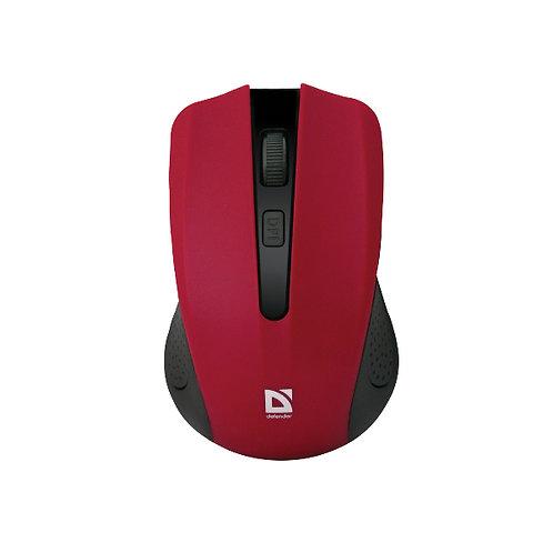 Мышь DEFENDER Accura MM-935 Wireless, 4 кн. до 1600 dpi, красная