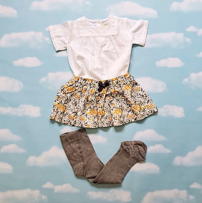 Skirt and Stockings Set