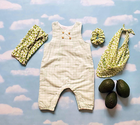 Green Vichy Overall