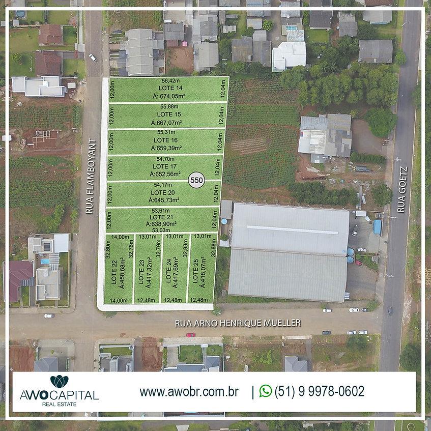 Nova oferta de terrenos no Loteamento Carolina, em Ivoti,
