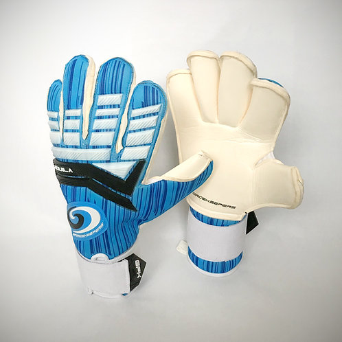 GFK Adult Aquila Roll Cut Goalkeeping Glove - Blue