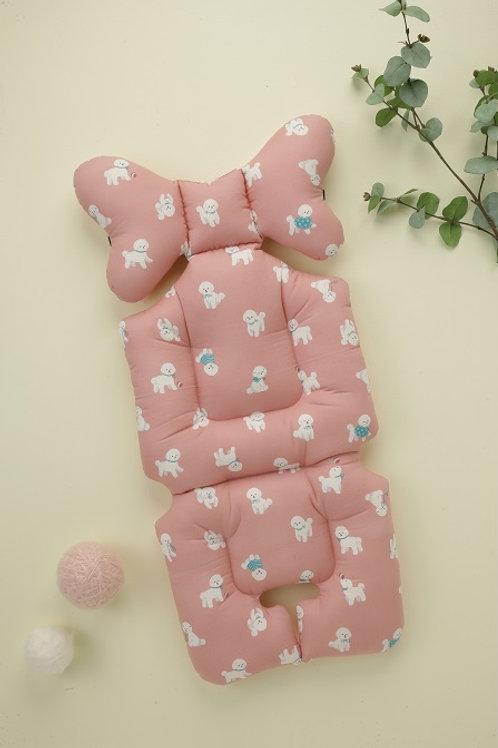 [Nuida] Bichon Frise Pink Liner