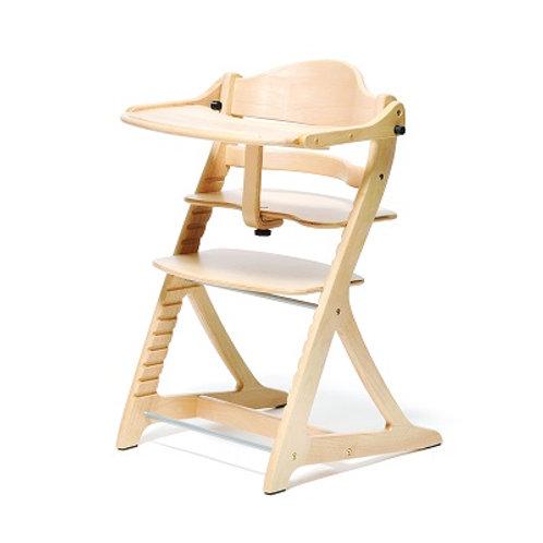 Yamatoya Sukusuku+ High Chair - Natural