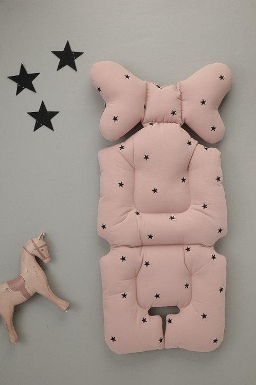 [Nuida] Embroid Star Pink Liner