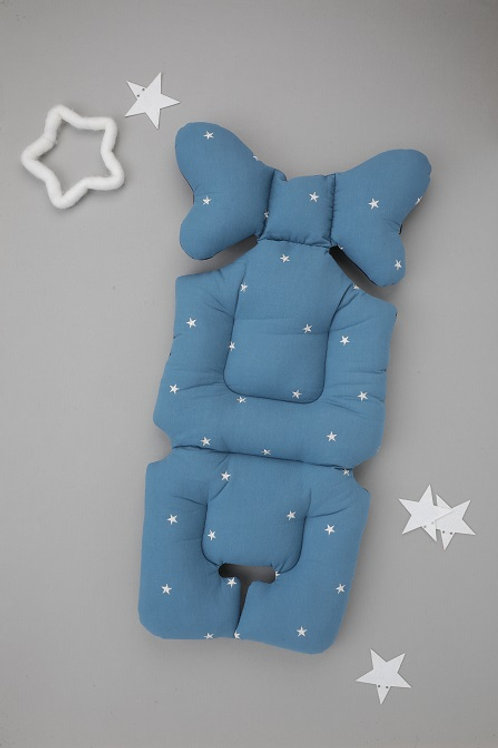 [Nuida] Embroid Star Blue Liner