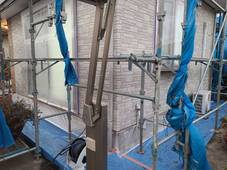 外壁塗装で重要な足場は狭くても組み立ててもらえる?