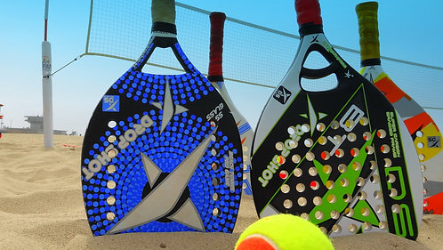 Beach Tennis Paddle Pack (4 Paddles and Bag)