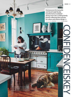 Kitchen words & styling by Sally Smith