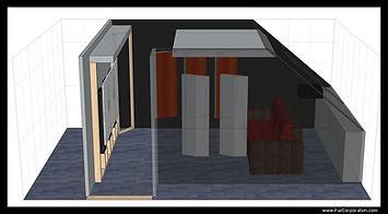 Simulation 3D salle finale