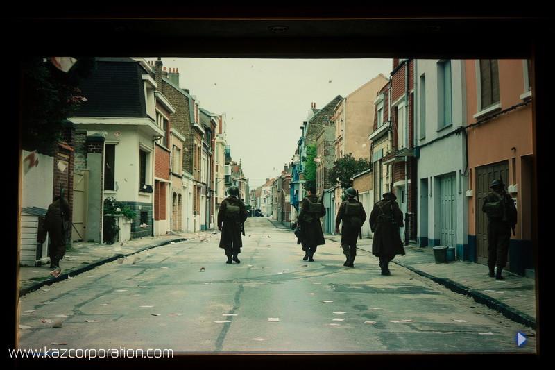 Optoma CinemaX P2 - Dunkirk HDR dans la rue