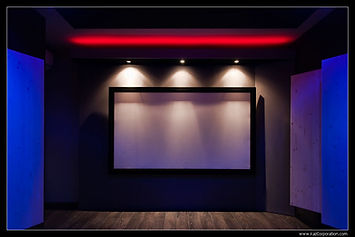 Scène avant éclairage LED