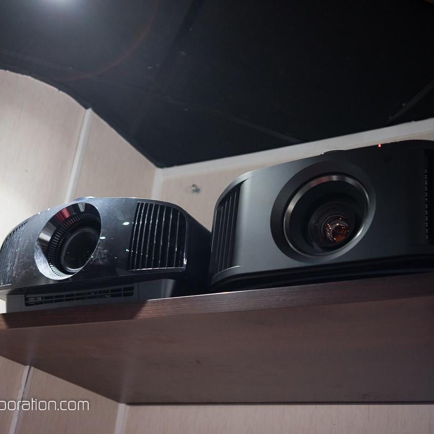 Sony 270es et JVC N5