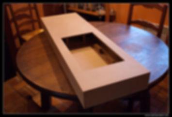 Back box enceinte centrale