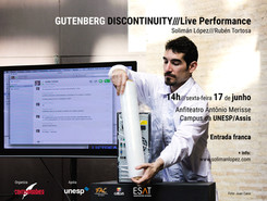 Performance Gutenberg Discontinuity em Assis