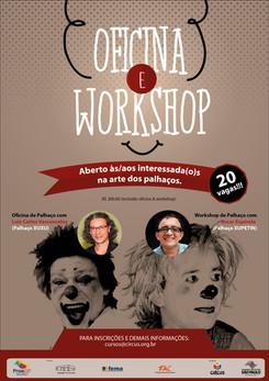 7º Encontro de Palhaços: OFICINA & WORKSHOP!