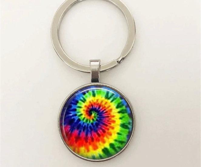Skye Dyes Tie Dye Keychain